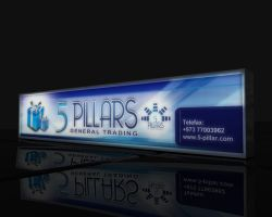 5 pilars signboard by pampilo