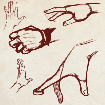 Quick Hands Practice - More to Come! by Dex91
