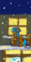 Winter - page 01 by gunslingerpen