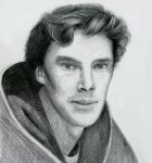 Benedict Cumberbatch by rodion