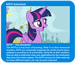 Animated INTP - Twilight Sparkle by MountainLygon