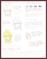 how I draw Cloud.. -request- by oOo-KupoCoffee-oOo