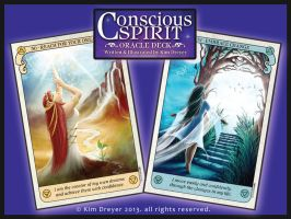 Conscious Spirit Oracle deck preview by AmberCrystalElf
