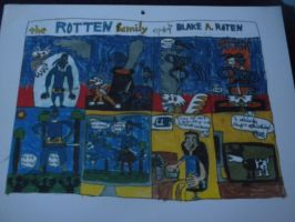 The Rotten Family #9: August 2011 by BARproductions