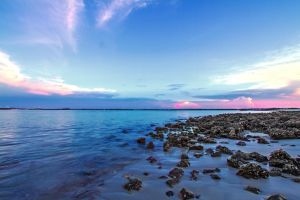 Sunset at the Inlet by TabithaS-Photography