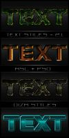 Text styles - 21 by DiZa-74