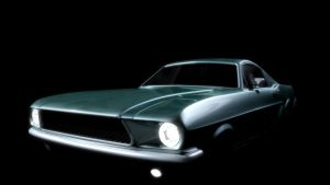 Ford Mustang Model 3 by DaisyBisley