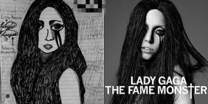 Lady Gaga The Fame Monster by SailorMoon190