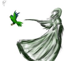 for the fallen parrotlets by hadukenzero