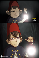 Over the Garden Wall - Redraw 04 by TaffyDesu