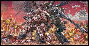 ARMARAUDERS: Issue #1 - Cover C by EnricoGalli