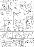 Professor Layton Comics 1 by littledinosaurarms