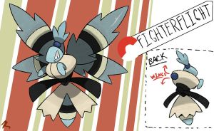 Male Butterfly Fakemon by TRspicy