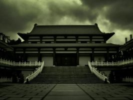 Templo wallpaper by think0