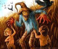 Scarecrow for Talisman by feliciacano