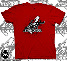Last 1 Standing Logo Tee by motion-attack