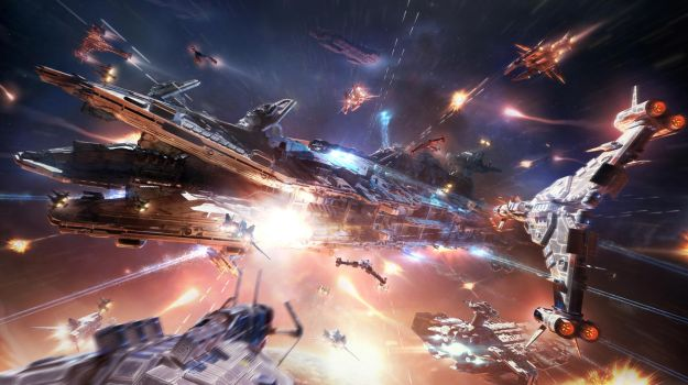 Attack of the Dreadnought - Star Conflict by Togman-Studio