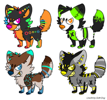 Canine Adopts: CLOSED by Metals-Adopts