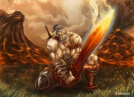 Barbarian!!! by DeDorgoth