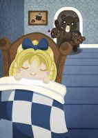Goldilocks and the Three Bears by SquidPig
