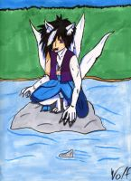 Hyoue Hyuuga: Marker by SuburbanWulf