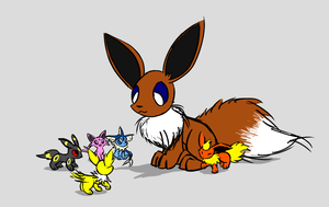 Eevee Day by hlavco