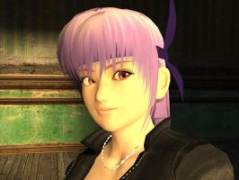 Ayane Portrait 2 by DooMGuy117
