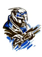 Garrus, Garrus everywhere by GARPIYA