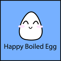 Happy Boiled Egg by Shirosayuri