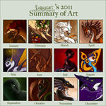 2011 Summary of Art by Rubilight