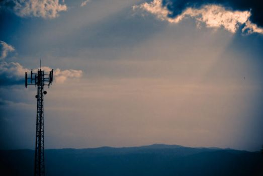 Cellphone Tower by joel-ex
