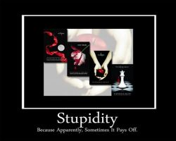 Stupidity Motivational Poster by Offended-By-Light