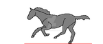 Galloping horse gif by pspsp13