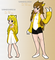 Moemon :: Sand Mouse Girls by K1lljoy