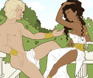 Adonis and Persephone