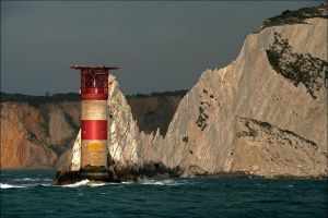 Needles Lighthouse by Tangent101