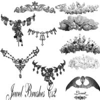 jewel brushes for cs2 by BrushHaven1
