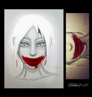 Blood and clown by Delila2110
