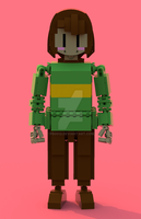 Lego Undertale Chara 1 by pb0012