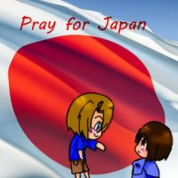Pray for Japan by NadiaEve