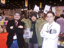 C2E2 2012 Friday - Me, My bro, and some hobo by soryukey