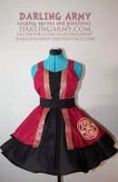 Rassilon Timelord - Doctor Who - Cosplay Pinafore by DarlingArmy