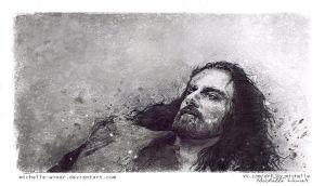 HOBBIT: Thorin's death by Michelle-Winer