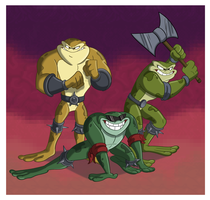 Battletoads by Sibsy