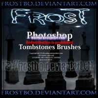 Tombstones Photoshop Brushes by FrostBo
