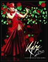Kylie X tour 2008 : Xposed by KenjiArts