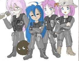 Lucky Expendables by piojote