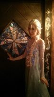 Frozen Cosplay: Elsa's Signature Snowflake by RedVelvetCosplay
