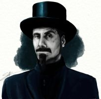 Serj Tankian by Teffy