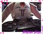 Mokona plays by miercoles666